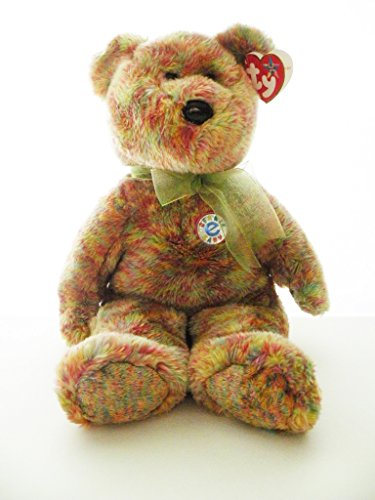 1 X TY Beanie Buddy - SPECKLES the Bear - 1