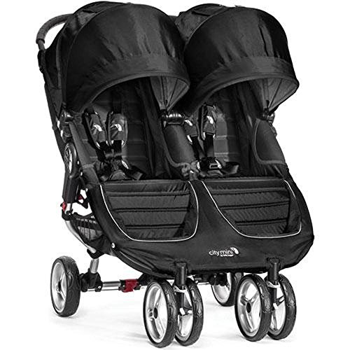 Baby-Jogger-City-Mini-Double-Stroller-with-Parent-Console-Black-Gray