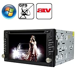 See Rungrace Universal 6.2 inch Windows CE 6.0 TFT Screen In-Dash Car DVD Player with Bluetooth / GPS / RDS / ATV Details