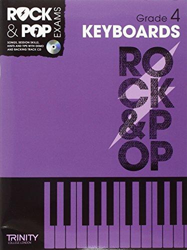 Trinity Rock & Pop Keyboards Grade 4