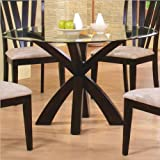 Coaster Home Furnishings 100883 Casual Dining Table Base, Deep Merlot Finish