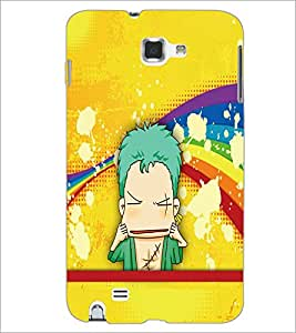 PrintDhaba Cartoon D-5794 Back Case Cover for SAMSUNG GALAXY NOTE 1 (Multi-Coloured)