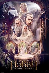 Le Hobbit : un voyage inattendu Poster 61X91 cm roulé - Affiche Pyramid International