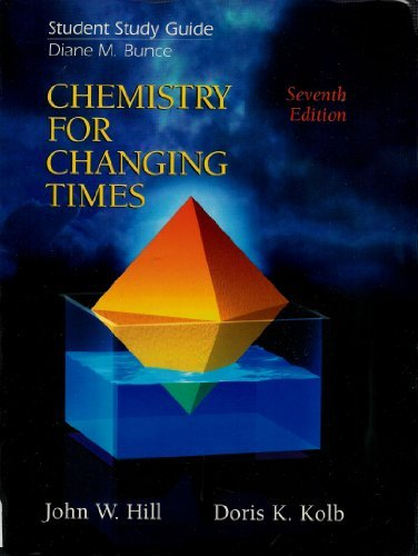 Chemistry for Changing Times PDF