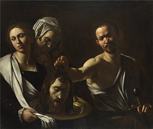 Oil Painting 'Michelangelo Merisi Da Caravaggio Salome Receives The Head Of Saint John The Baptist ' Printing On Perfect Effect Canvas , 18 X 21 Inch / 46 X 54 Cm ,the Best Foyer Gallery Art And Home Artwork And Gifts Is This Imitations Art DecorativeCanvas Prints (Electric Art Gallery compare prices)