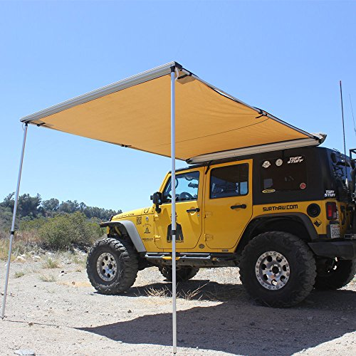 Tuff Stuff 6.5' X 8' Rooftop Awning (Truck Bed Winch Mount compare prices)