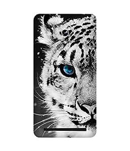White Tiger Asus Zenfone 6 Case