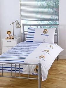 Real Madrid Parure linge de lit Housse de couette + Taie 135x200cm