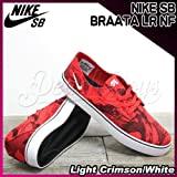 NIKE(ナイキ) SB ブラータ BRAATA LR NF Light Crimson/White/メンズ(men's) 靴 スニーカー(599632-601) LightCrimson/White,27cm(US9)
