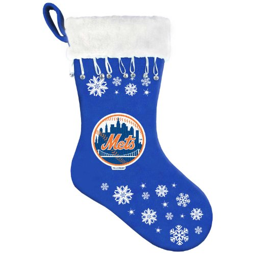 MLB New York Mets Snowflake Stocking at Amazon.com