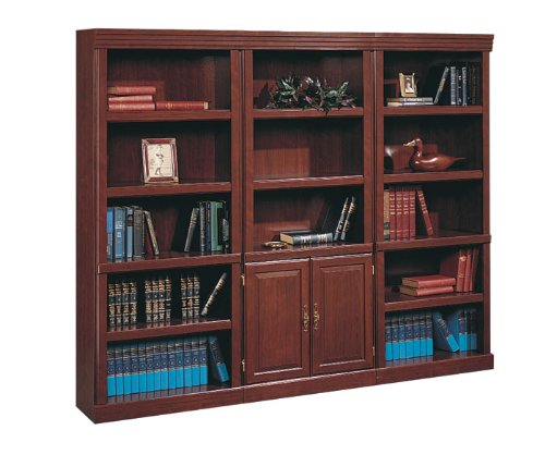 Heritage Hill Traditional Bookcase Set Classic