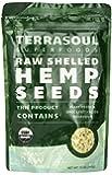 Terrasoul Superfoods Raw Hulled Hemp Seeds (Organic), 12 Ounce