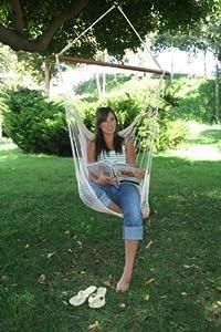 Amazon.com : Hammock Chair, Natural : Swing Chairs : Patio ...