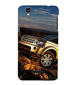 EPICCASE Range Rover Mobile Back Case Cover For YU Yureka Plus (Designer Case)