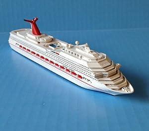 Amazon.com: CARNIVAL CONQUEST cruise ship model in scale 1:1250