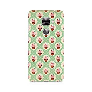 Ebby Vintage Cupcakes Premium Printed Case For LeEco Le 2