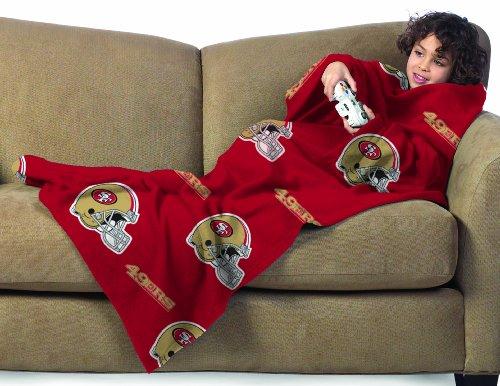 49ers Blanket Fleece front-1047913