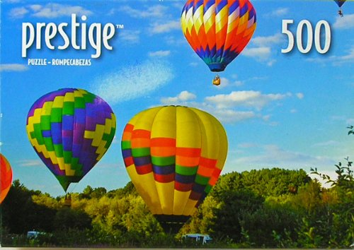 "Prestige Hot Air Balloons Hudson, Mass 500 Piece Jigsaw Puzzle 9"" x 13"""