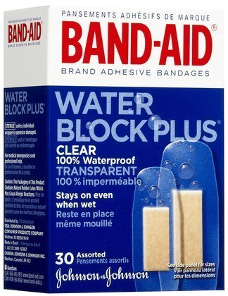 band-aid-water-block-plus-adhesive-bandages-clear-30ct-assorted-sizes-pack-of-6-by-band-aid