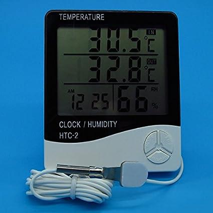 Generic-Digital-Lcd-Electronic-Thermometer-Humidity-Meter-Clock-Hygrometer-Temperature