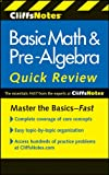 img - for CliffsNotes Basic Math & Pre-Algebra Quick Review, 2nd Edition (Cliffs Quick Review) book / textbook / text book