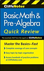 CliffsNotes Basic Math & Pre-Algebra Quick Review, 2nd Edition (Cliffs Quick Review)