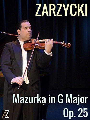 Zarzycki: Mazurka in G Major Op. 25