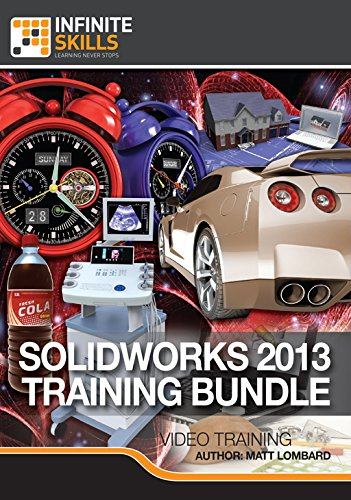 Learning Solidworks 2013 Training Bundle [Online Code]