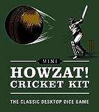 Mini Howzat Cricket Kit: The Classic Desktop Dice Game