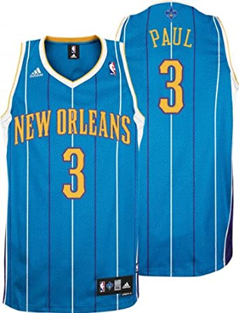 NBA New Orleans Hornets Chris Paul Revolution 30 Road Swingman Jersey H Size by adidas
