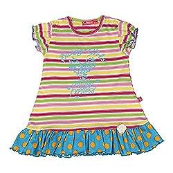 Buzzy Baby-Girls' Dress (Blue,9-12M)