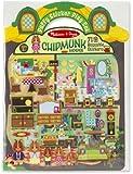 Melissa & Doug Chipmunk House Puffy Sticker