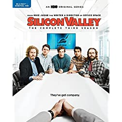 Silicon Valley: The Complete Third Season [Blu-ray]