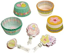 Wilton Spring Garden Cupcake Baking Combo Pack Boxed Set