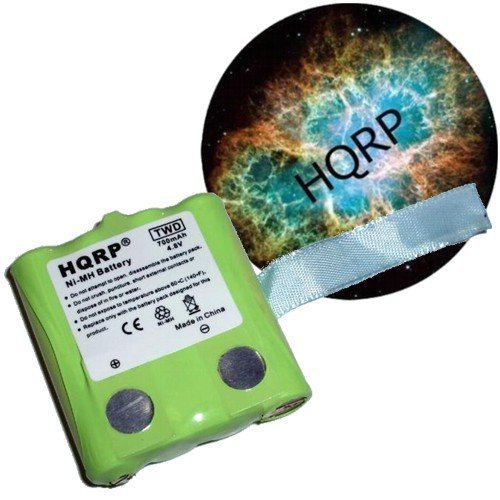 HQRP Two-Way Radio Rechargeable Battery Pack for UNIDEN BP-38 / BP38 Replacement plus Coaster