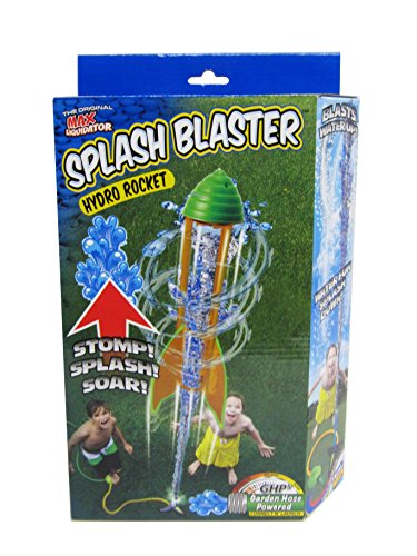 Prime Time Toys Splashblaster Hydro Rocket (Colors and Styles May Vary) with package 8 styles transformation robot cars and prime toys action figures classic toys for kids christmas gifts