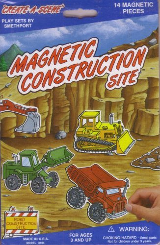 Magnetic Create A Scene - Construction Site