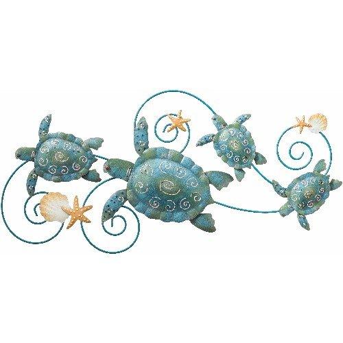 Wall Art Handcrafted Decor Sea Turtle (31x14) - Regal Art #5073