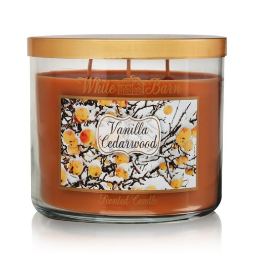 Bath Body Works Vanilla Cedarwood 3-Wick Scented