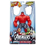 Red Hulk Rage Avengers Mighty Battlers 6 Inch Action Figure