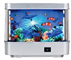 Rotating Ocean Aquarium Picture Motion Moving Lamp Night Light Tropical Fantasy AL1210