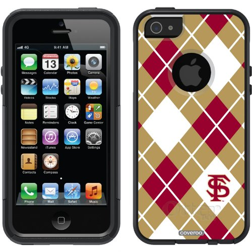 Special Sale Florida State Argyle design on a Black OtterBox® Commuter Series® Case for iPhone 5s / 5