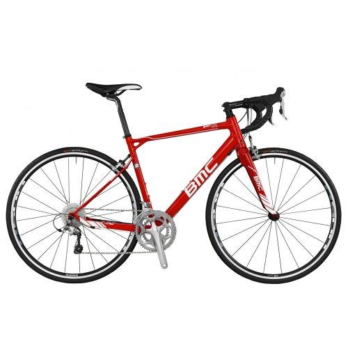 Road Bikes: BMC granfondo GF02 Road bike Gentlemen 105, compact red ...
