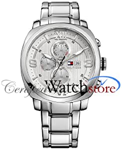 Tommy Hilfiger Men's 1790970 Sport Luxury Multi-Eye Stainless Steel Case Bracelet Watch