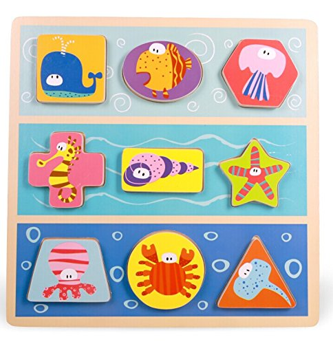 TOP BRIGHT Ocean Animal Puzzle - 1