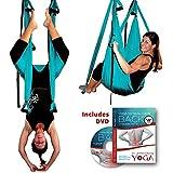 Inversion Sling - Yoga Swing Original GravoTonics (Turquoise) & Yoga Back DVD