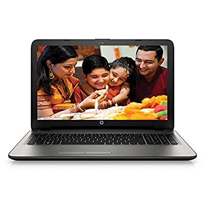 HP 15-ac116TX 15.6-inch Laptop (core_i3_5005u/4GB/1TB/AMD Radeon R5 Series M330), Turbo Silver Colour with Diamond...