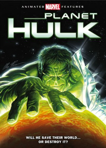 Planet Hulk Cover