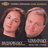 Mussorgsky; Stravinsky - Works for Two Pianosby Igor Stravinsky