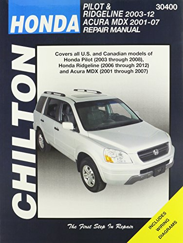 honda-pilot-ridgeline-acura-automotive-repair-manual-chiltons-total-car-care-repair-manuals